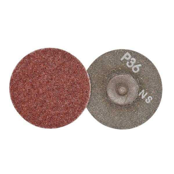 """3"""" Rolok Sanding Disks - 36 Grit - 25PC"""