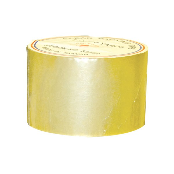 "Clear Packing Tape - 3"" X 110yds"