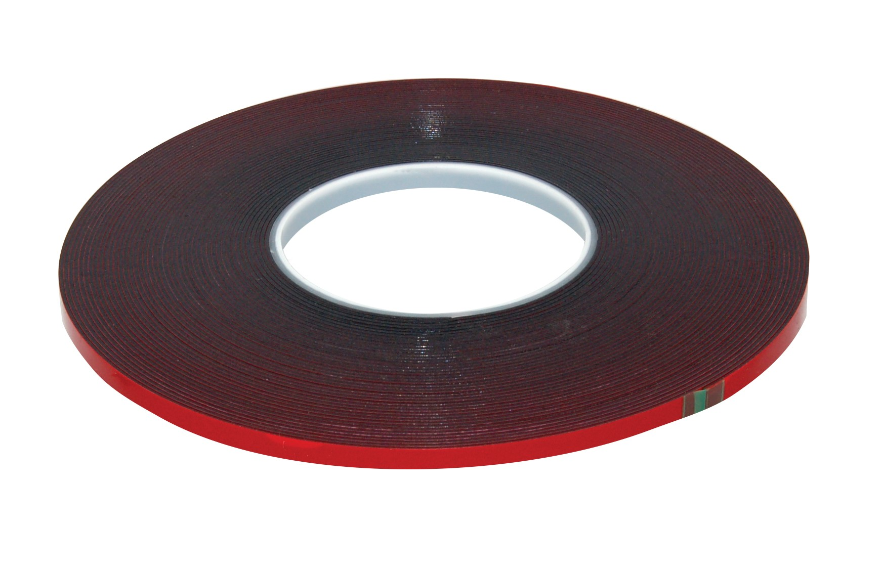 "Double Face Tape - 1/4"" x 60' - Red Liner"