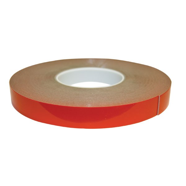 "Double Face Tape - 7/8"" x 60' - Red Liner Urethane"