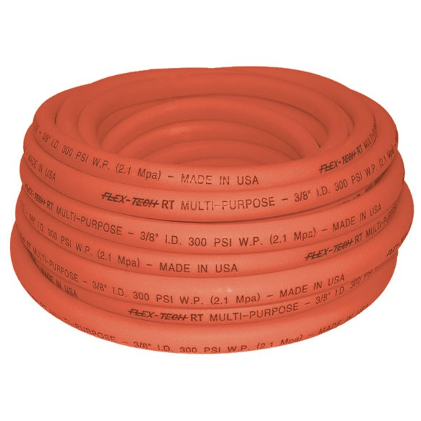 """3/8"""" x 25' Synth. Rubber Air Hose"""