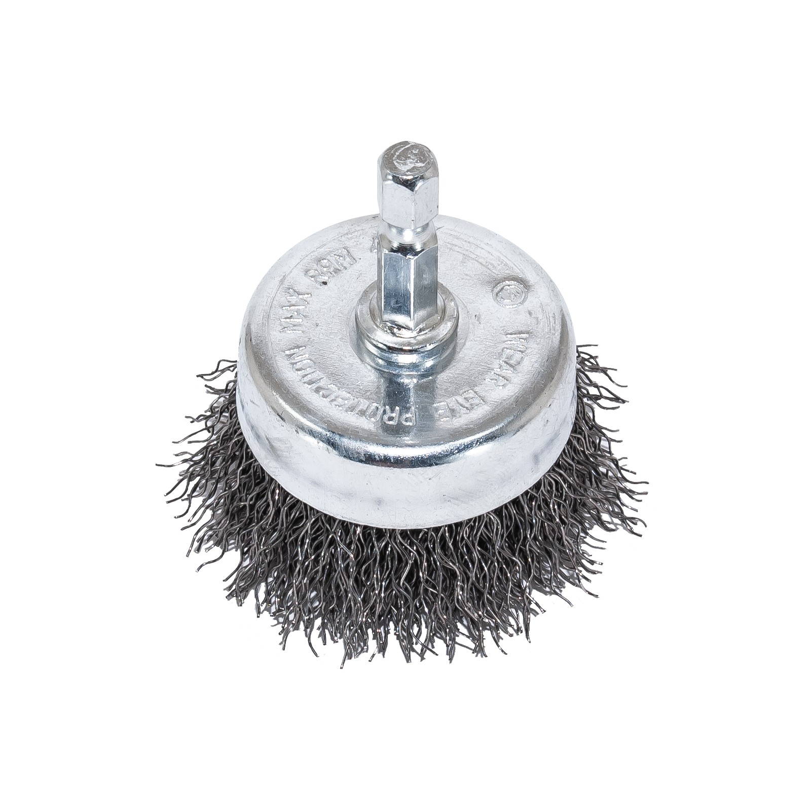 """2"""" Wire Cup Brush with 1/4"""" Shank - Coarse Wire"""