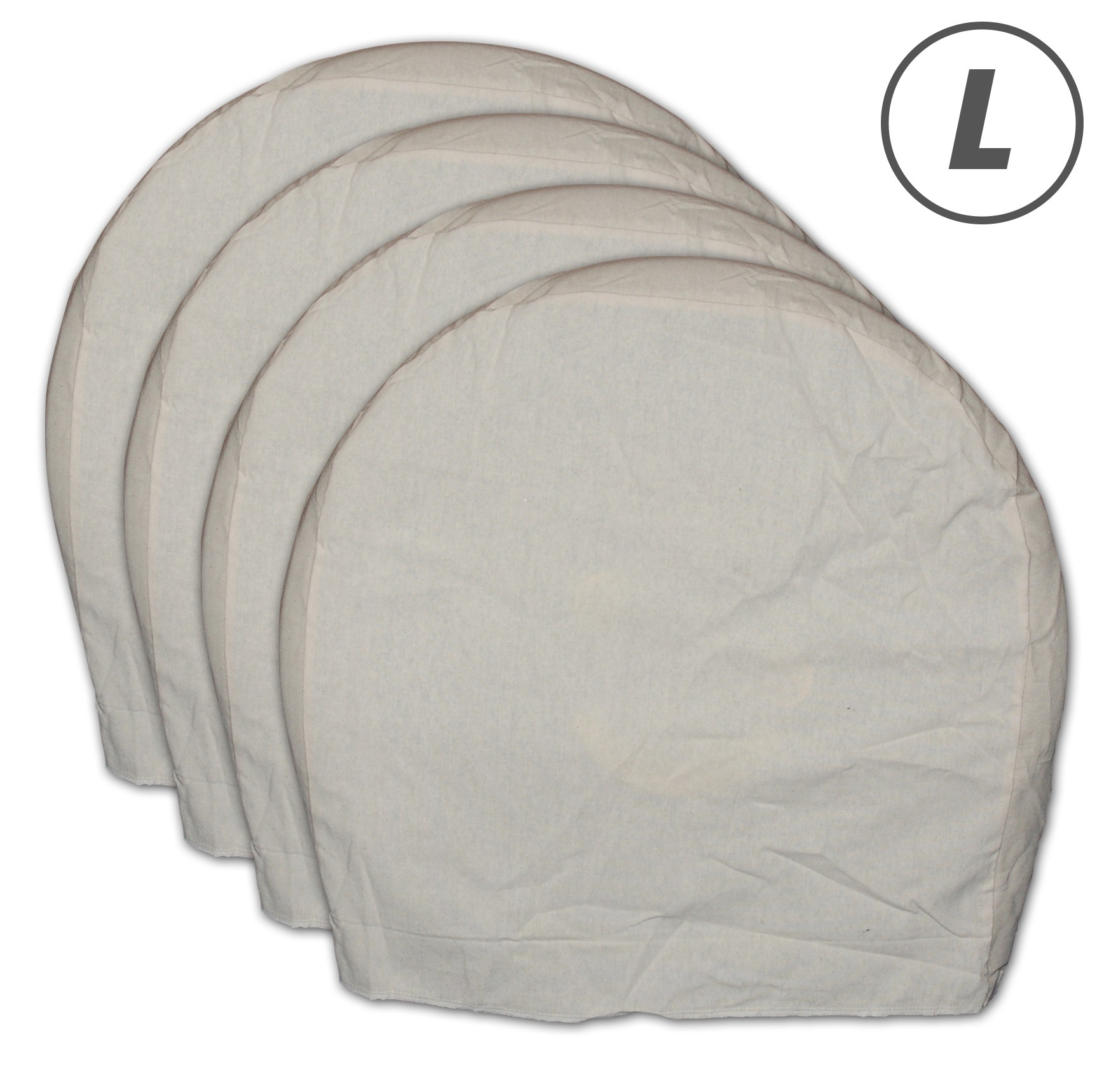 Canvas Wheel Masker Set, 4pc Set, Large