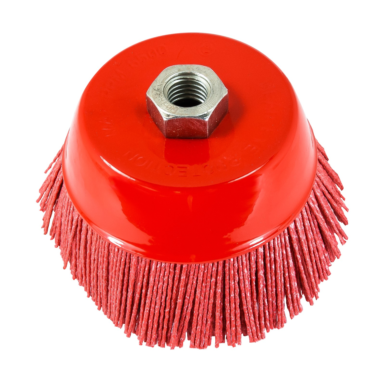 "Nylon Filament Brush - 5"" Cup"