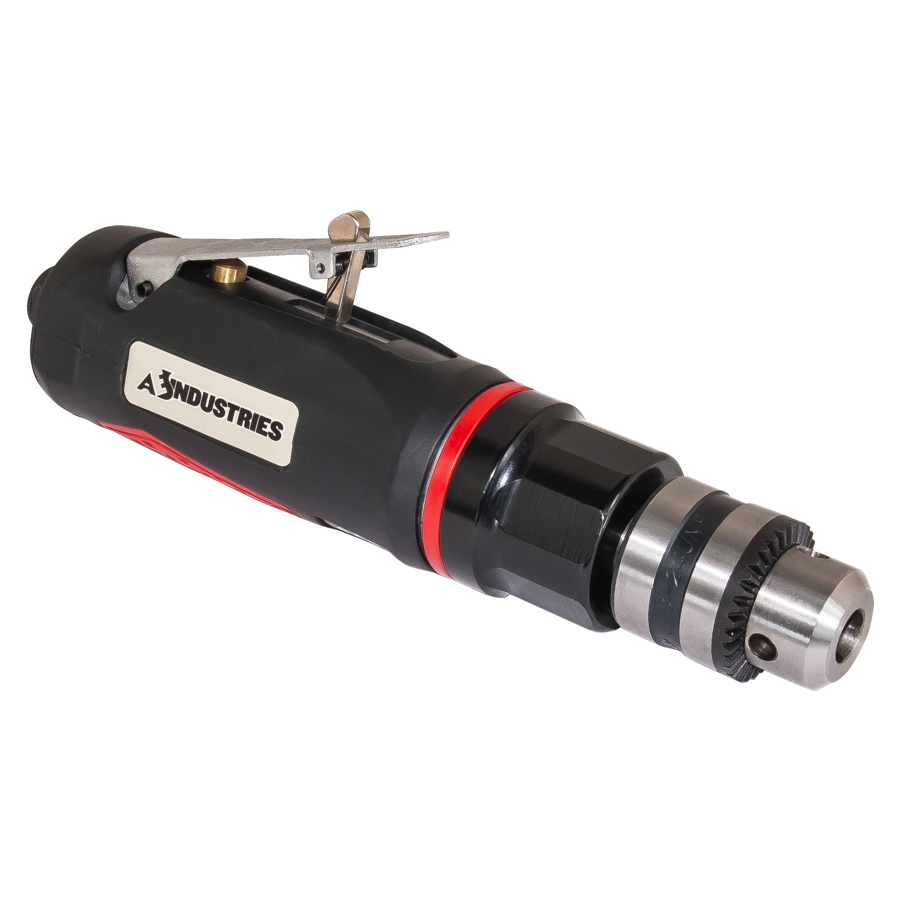 """3/8"""" Straight Air Drill with Soft Grip"""