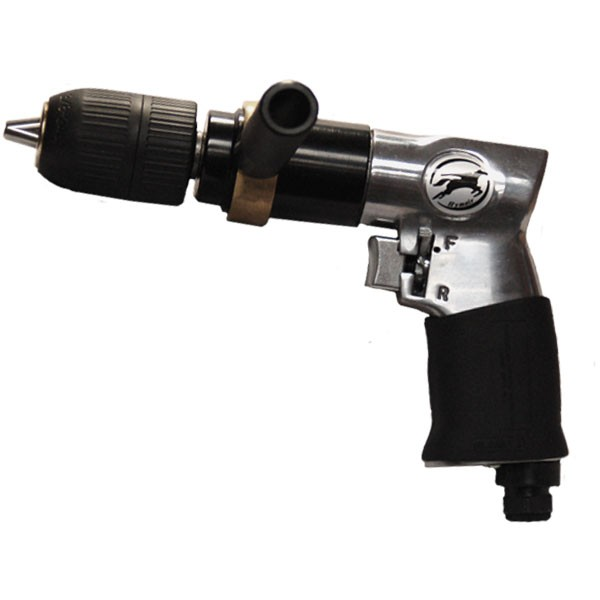 "1/2"" Reversible Air Drill w/Keyless Chuck"