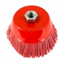 "Nylon Filament Brush - 5"" Cup"