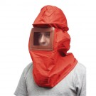 Canvas Sand Blast Hood w/Hard Hat