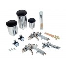 Deluxe HVLP Spray Gun Kit (15pc)