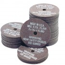 "Cut-Off Wheels - 3"" x 1/32"" x 3/8"" - 100 per Box"