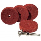 4 Wheel Polishing Kit - Maroon