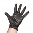 Black Nitrile Disposable Gloves - Large