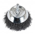 "3"" Wire Cup Brush with 1/4"" Shank - Coarse Wire"