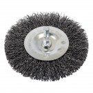 "4"" Wire Wheel with 1/4"" Shank - Coarse Wire"