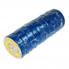 "50ft 3/4"" Electrical Tape - Blue (10 Rolls)"