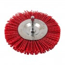 "Nylon Filament Brush - 4"" Wheel"