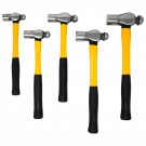 5pc Ball Pein Hammer Set with F/G Handles