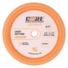 """CORE 8.5"""" Foam Pad, Orange, Light Cutting"""