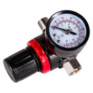 Mini Diaphragm Air Regulator, 180psi Gauge