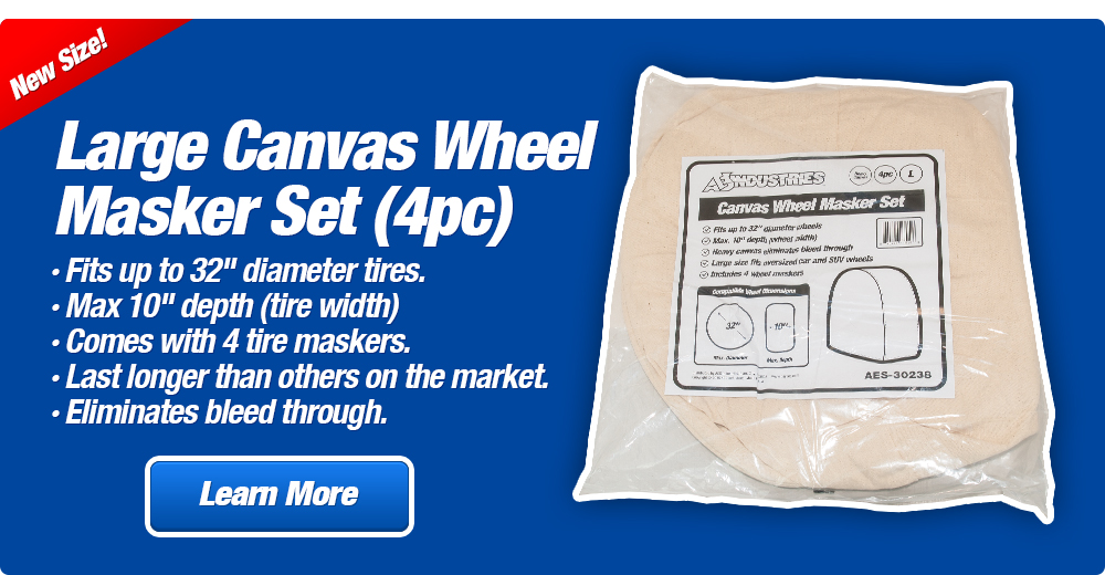 Large Canvas Wheel Masker Set (4pc)