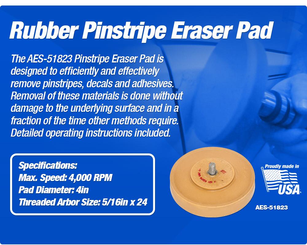 AES Pinstripe Eraser