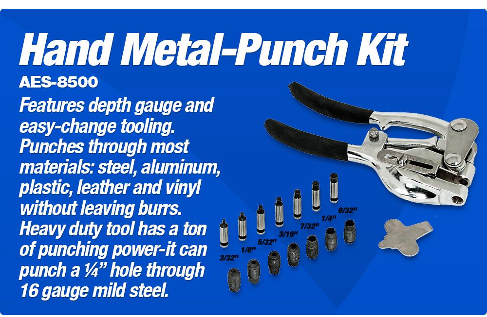 Metal Hand Punch Kit
