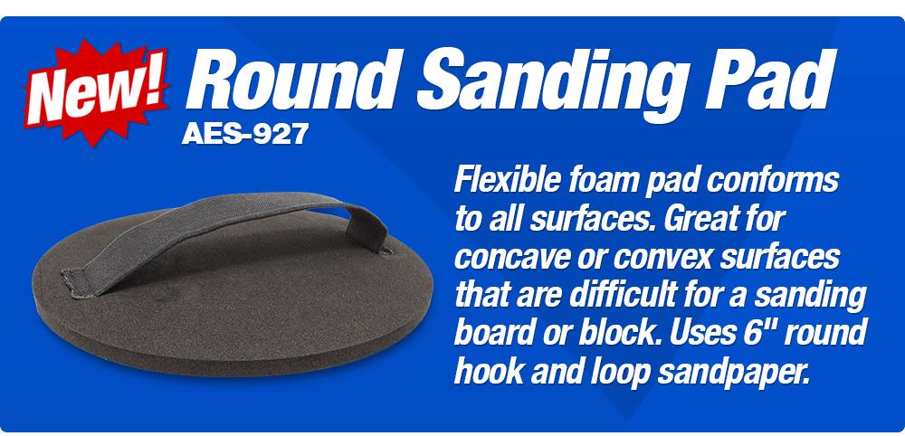Round Sanding Pad
