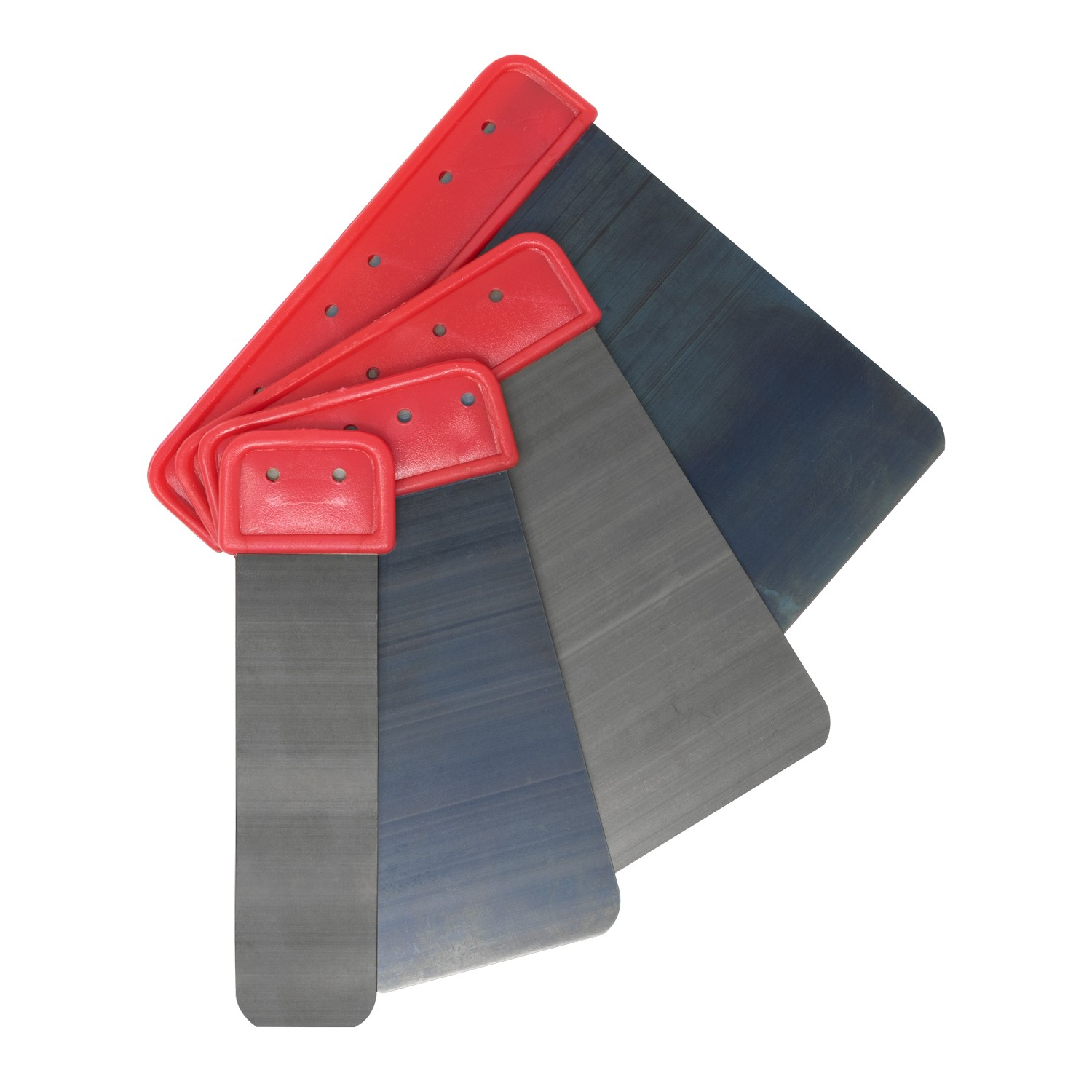 4pc Curved Edge Metal Spreader Set