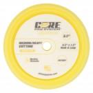 "CORE 8.5"" Foam Pad, Yellow, Medium/Heavy Cutting"